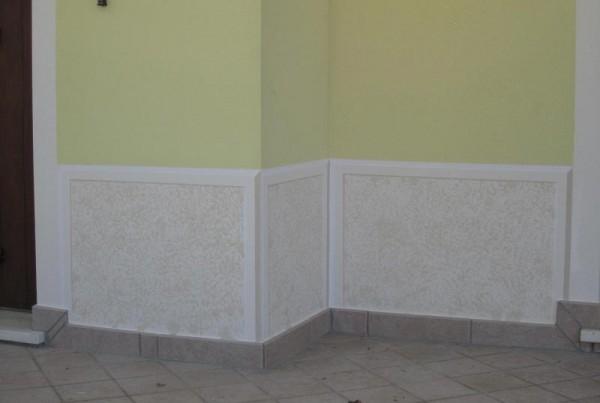 decorazione finta pietra