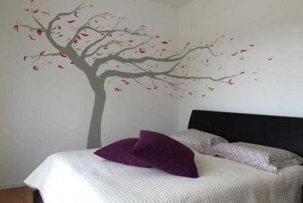 decorazione murale fatta mano